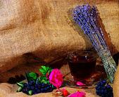 健康和美味的薰衣草茶 — 图库照片