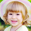 Stock Photo: Smiling girl