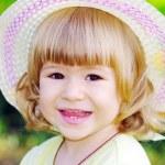 Jeune fille souriante — Photo
