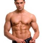 Muscular man. — Stock Photo