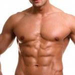 The male body. — Stock Photo