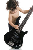 The young guitarist. — Stock Photo