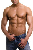 The male body. — Stock Photo