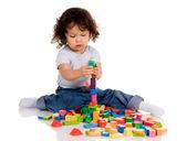 Little boy playing — Stock Photo