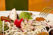 Elver salad — Stock Photo