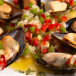Mussel vinaigrette — Stock Photo