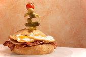 Supersized sandwich — Stock Photo