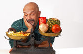 Dieting discipline — Stock Photo