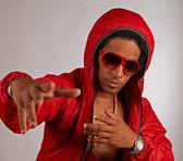 Hip hop artist — Stock Photo