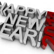 Happy New Year! 2011 — Stock Photo