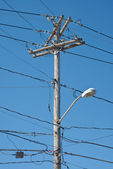 Telephone Pole — Stock Photo