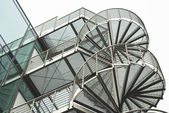 Scale come elemento architettonico — Foto Stock