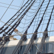 Rigging of a Sailing Ship — Stock Photo