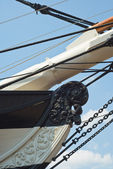 Bow of the USS Constellation — Stock Photo