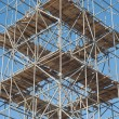 Stock Photo: Scaffolding on a Construction Site