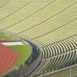 Stadium Seating with Athletic Track — Stock Photo