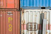 Old Transport Containers — Stock Photo
