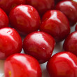 Ripen red cherries — Stock Photo