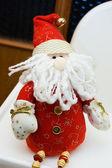 Santa Claus toy — Stock Photo