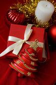 Christmas tree toy — Stock Photo
