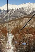 Die caucasian Berge, Russland — Stockfoto