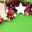 Foto Stock: Christmas background or card
