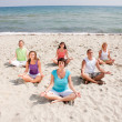 Foto de Stock  : Meditation group