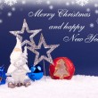 Xmas and new year card - Stock Photo