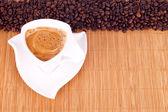 Café y café vigas — Foto de Stock