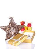Opened present — Stock Photo