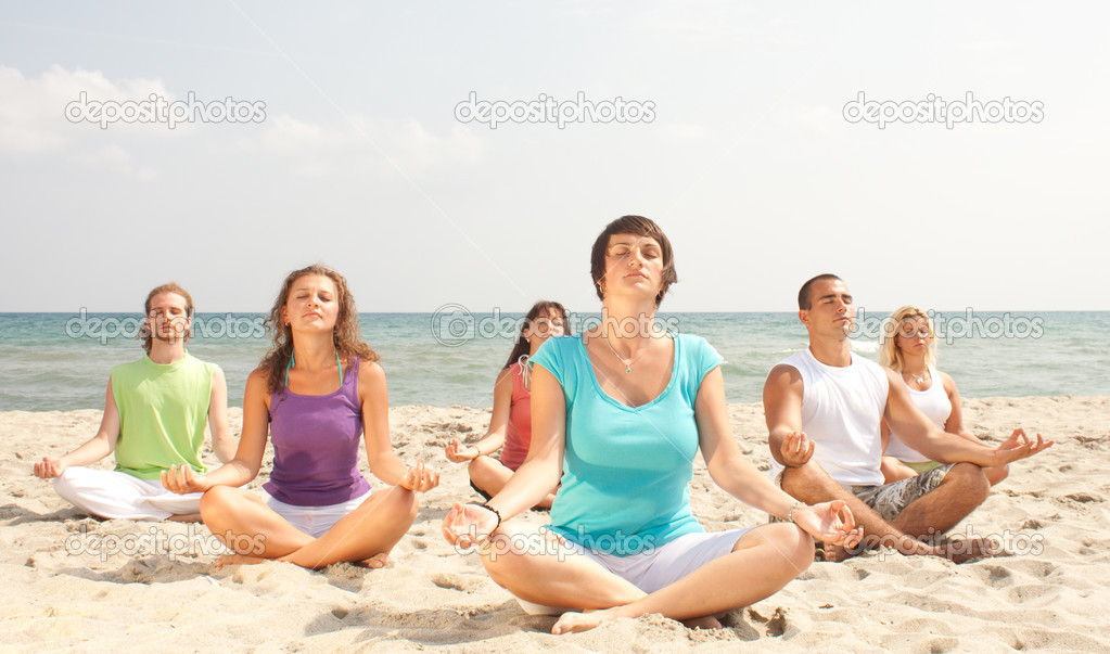 Meditating  Stock Photo #2831937