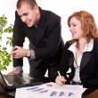 Working together in office — Stock Photo #2926634