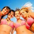 Smiilng bikini girls — Stock Photo #2976276
