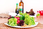 Vegeterian meal — Stock Photo