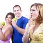 gezondheid vs unhealth — Stockfoto #3339515