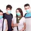 Stock Photo: Protection from epidemic