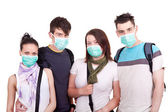 Protection from epidemic — Stock Photo
