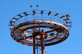 Antenna al cielo blu — Foto Stock
