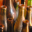 Dusty bottles — Stock Photo