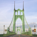 St. John's Bridge — Stock Photo #3132691