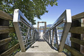 Walkway to Boat Moorage — Stock Photo