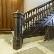 Stock Photo: Staircase inside Historic Courthouse