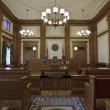 Historic Building Courtroom 3 — Stock Photo #3500831