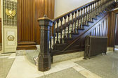 Staircase inside Historic Courthouse — Stock Photo
