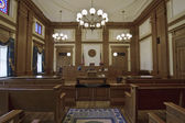 Historic Building Courtroom 3 — Stock Photo