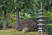 Japanese Stone Pagoda 2 — Stock Photo