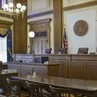 Court of Appeals Courtroom 2 - Stock Photo