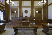 Court of Appeals Courtroom 3 — Stock Photo