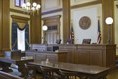 Court of Appeals Courtroom 2 — Stock Photo