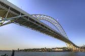 Фримонт мост Портленд Орегон — Стоковое фото